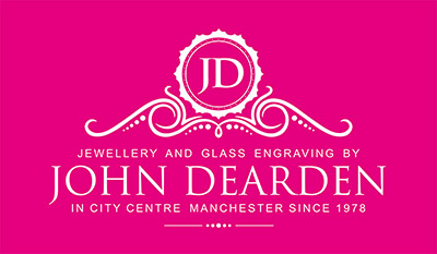 Engraving by John Dearden Logo
