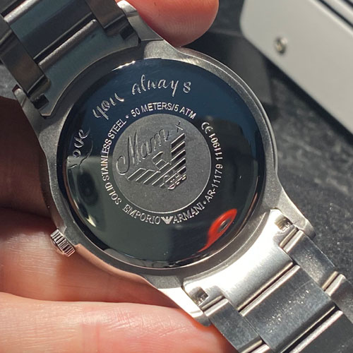 """One of a pair of watches. The final gift from """"Mam"""""""